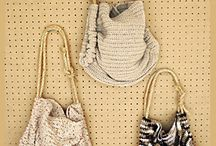 Bags to knit or crochet / Patterns and tutorials