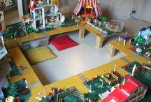 playmobil Lego rangements