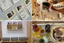 preschool spaces & activities