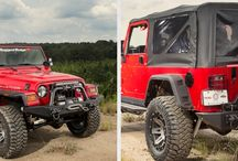 New Products / Photos of new products coming soon to FTE 4x4 for the Jeep family.