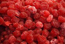 sušené a kandované ovocie