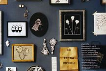 Inspiration for my home - On the wall / Beautiful wall decorations