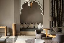 Moorish Inspired rooms