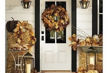 Fall  Porches, Front and Back