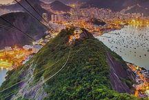 Rio de Janeiro from Sugarloaf Mountain, Brazil #HeathrowGatwickCars.com