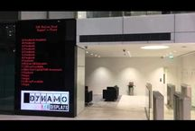 Digital LED Tenant Boards from Dynamo LED Displays UK / Digital LED tenant boards are a fantastic way to showcase your reception area and can be a much easier way to change tenants than costly printing or painting etc. Our LED tenant boards can also double up as LED video walls to fantastic effect!
