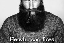 Beards.. Beards everywhere