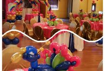 Peacock Birthday party decorations / Balloon Decorations for Peacock Themed birthday celebrations