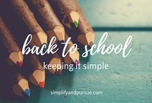 School / Simple school solutions and ideas.