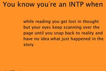INTP and so on