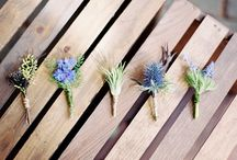 WEDDING :: boutonniere / by Jeanine Linder