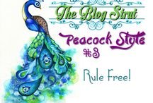 Blog Strut Peacock Style
