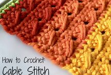 Crochet Stitches / Tutorials for crochet stitch patterns and techniques.