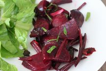 Salads, Vegetable dishes. Vegan