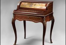 Writing Desk & Chair / Ideas for my home office / by Elizabeth Hubbell