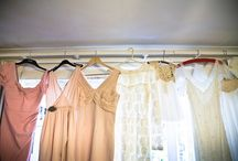 Mismatched Bridesmaids Dresses / We love the idea of mismatched bridesmaids dresses... here are some of our favourite