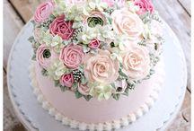 Торты и пирожные, украшение и рецепты.