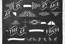 Fonts and Embelishments