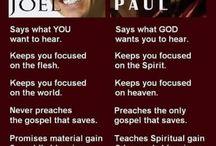 false teachers & preachers