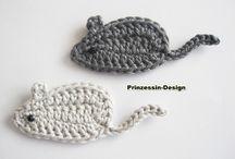 appliques crochet