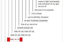 Canadian, eh? / by Emilia Dashko