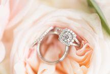 Wedding Rings. / Diamond + engagement rings