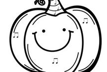 Children's Choir Coloring Sheets / by Annette Williams