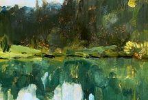 Painting. Isaak Levitan
