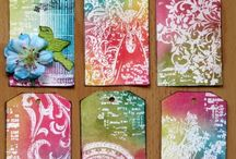 Tags and ATCs / by Desiree de Monye
