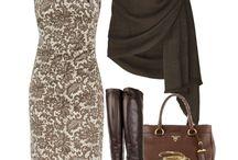 I love dresses - brown