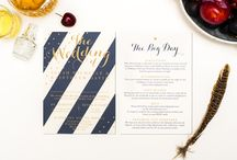 Invitation Meets Inspiration: All that Glitters / We've created a creative wedding look inspired by our All that Glitters wedding stationery. ⚡ A little of our paper goodness can go a long way! ⚡