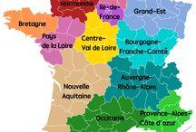 carte des nouvelles régions