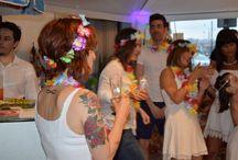 BEACH PARTY RDA / Recreación de un chiringuito de #playa para celebrar el #verano en nuestro salón de #BIlbao