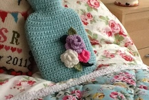 Hot Water Bottles / Cosy crochet and knitted hotties.