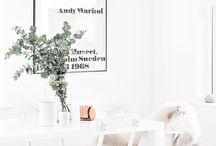 Flori. Plante. Design interior