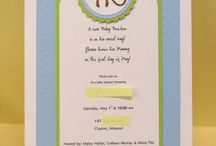 Stampin up invitations