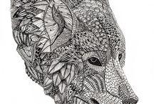 Loups wolfs