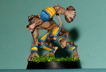 Bloodbowl! / Some characters created for the Lucca's Ludolega for the Boardgame Bloodbowl!
