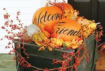 Fall decorations / by Elaine Didelot