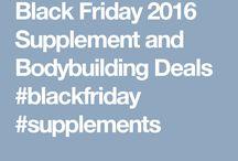 Black Friday 2016 Supplement Deals