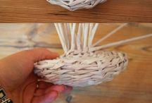 cestería de papel
