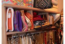 Closet organization / by Ashley Sadler