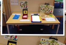 literacy display corner