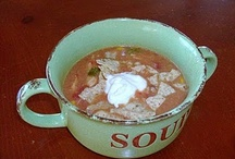 Obsessed with Soups / by Cheryl Hansen