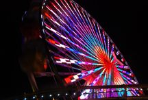 Ferris Wheels / indulging in my obsession with ferris wheels and other Fair type rides