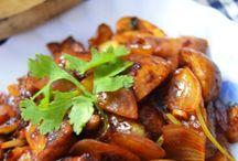 Vegetarian Side dishes / Gourmet veggies..............