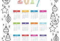 yeni yıl takvimi