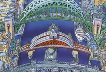 John Coatsworth / Artist Biography  John Coatsworth is a popular local artist, born in Newcastle and also a Freeman of Newcastle. He is a self - taught artist and illustrator, whose main interest has always been Fine Art.  John's first job was in Turners the Photographers in Newcastle, where he was a craftsman printer. On leaving there he attended Newcastle Art College where he took a foundation course in Graphic Art. After College he worked for six months at the Hancock Museum