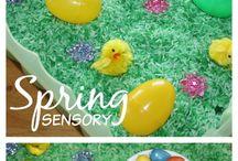 Easter Sensory Bins