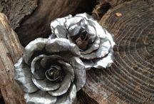 tin can roses